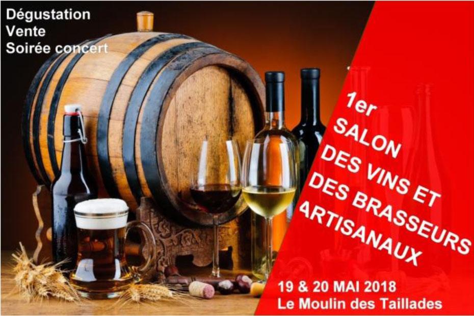 1er Salon des vins et des brasseurs artisanaux