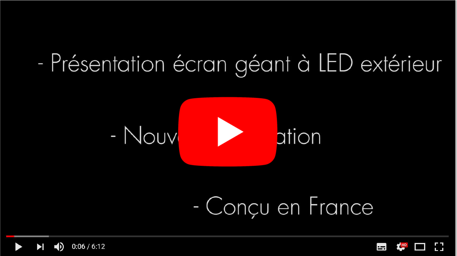 ecran led exterieur pitch 8 mm