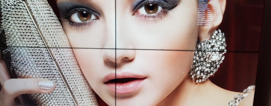 mur d'image - pixel impact