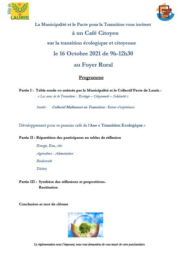 invitation café citoyen 16 oct 2021