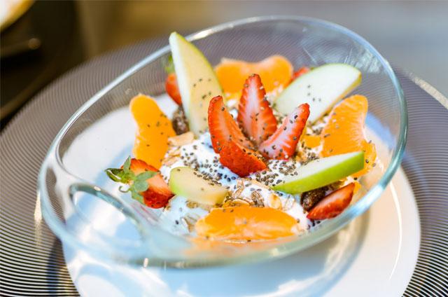 healthy food salade de fruits